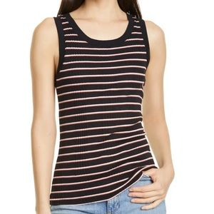Joie Laureline Ribbed Tank size XL New